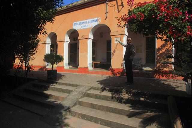 SWAMI ATULANANDA'S ROOM IN HARIDWAR