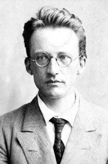 Dr Erwin Schrödinger